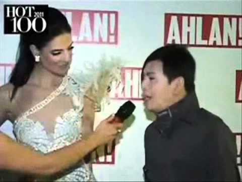 Ezra Santos Interview at Ahlan's Hot 100 2011