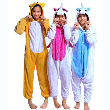 Animal Unicorn Jumpsuits Pajamas-Newchic-