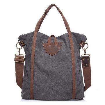 Canvas Large Capacity Vintage Handbag-Newchic-