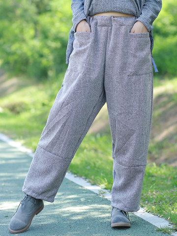 Casual Loose Women Wide Leg Pants-Newchic-