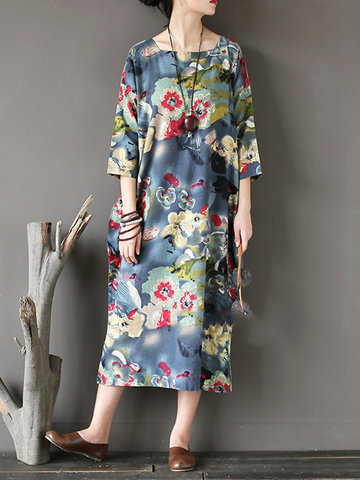 Casual Square Collar Women Dresses-Newchic-