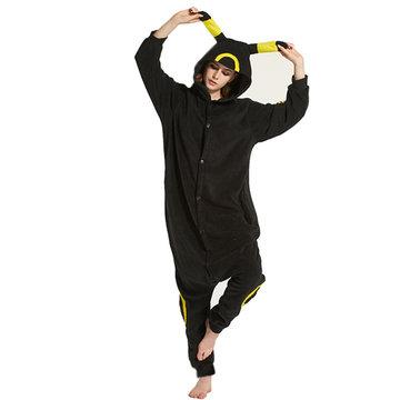 Cute Elfin Footed Pajama Flannel Cosplay Sleepwear-Newchic-
