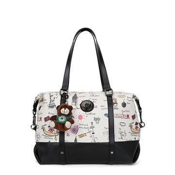 DANNY BEAR Bear Decorational Shoulder Bags-Newchic-
