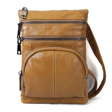 Ekphero Genuine Leather Women Card Holder Crossbody Bag Pass-Newchic-
