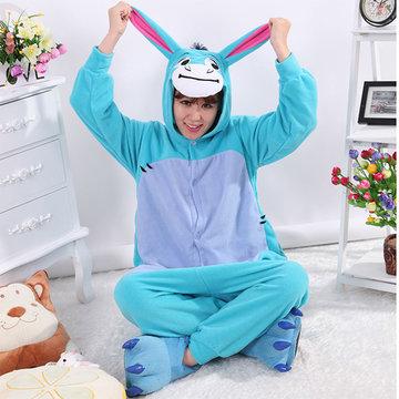 Footed Pajama Cartoon Sleepwear-Newchic-