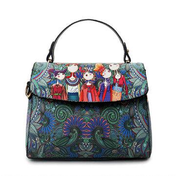 Green Cover Crossbody Bag-Newchic-