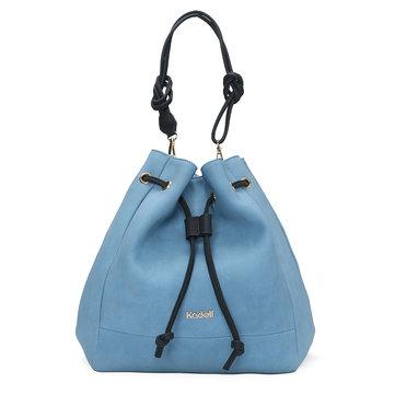 Kadell Women PU Leather Bucket Bags Hobos Handbags-Newchic-