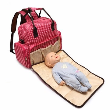Large Baby Diaper Nappy Backpack Changing Bag Mummy Tote Handbag Shoulder Bags-Newchic-