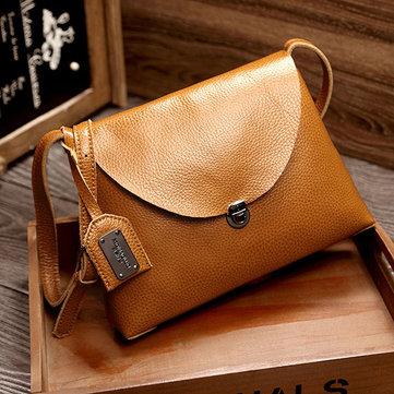 Leather Tassel Crossbody Bag-Newchic-