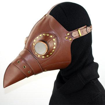 Long Beak Mask Cosplay Halloween Mask Props-Newchic-