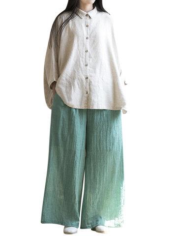 Loose Elastic Waist Women Pants-Newchic-