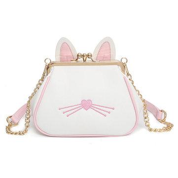 PU Cute Tote Bag-Newchic-