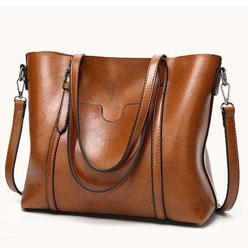 PU Leather Handbag-Newchic-