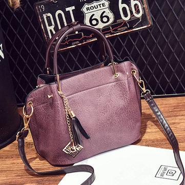 PU Leather Vintage Handbag-Newchic-