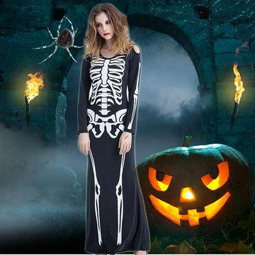 Prop Vampire Clothes Cosplay Skeleton Holloween-Newchic-