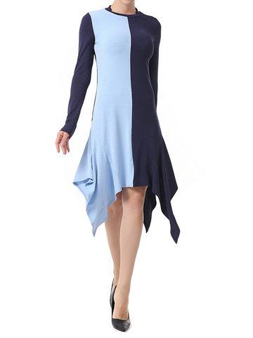 Sexy Multicolor Asymmetrical Mini Dresses-Newchic-