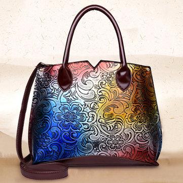 Vintage Chinese Style Embossed Crossbody bag Handbag-Newchic-