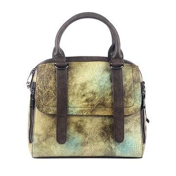 Vintage Flap Composite cowhide Shoulder Bags-Newchic-