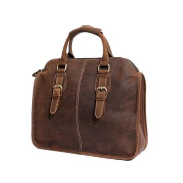 Vintage Genuine Leather Crossbody Bag For Men Women-Newchic-