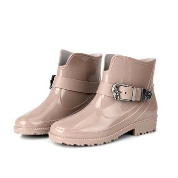 Waterproof Ankle Rainboots For Women-Newchic-Multicolor