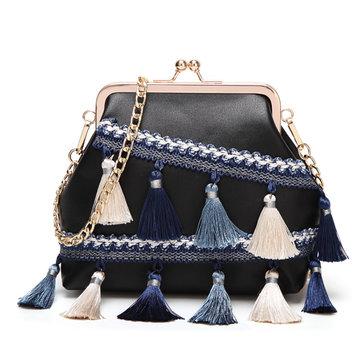 Women Bohemian Tassel Shoulder Bags-Newchic-