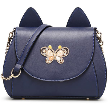 Women Cute Cat Shape Fashion Shoulder bag-Newchic-