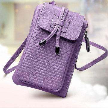 Women Genuine Leather Phone Bag-Newchic-