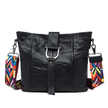 Women Genuine Leather Square Shoulder Bag Crossbody Bag Messenger Bag-Newchic-