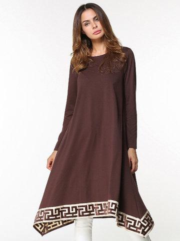Women Irregular Hem Dresses-Newchic-