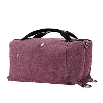 Women Men Canvas Multifunctional Bags Casual Sport Shoulder Bag Backpack Crossbdoy Bags Handbag-Newchic-