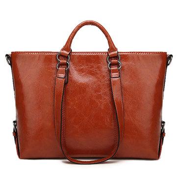 Women Minimalist Messenger Bag Leisure Tote Handbag-Newchic-
