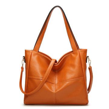 Women PU Leather High-end Handbags Retro Shoulder Bags-Newchic-