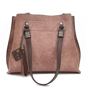 Women Stylish Bucket Bag Handbag Shoulder Bags-Newchic-