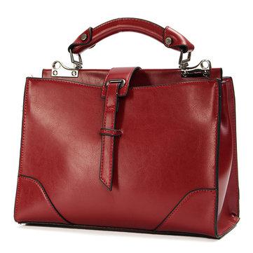 Women Vintage Stylish Satchel Tote Messenger Shoulder Bag Crossbody Bag-Newchic-