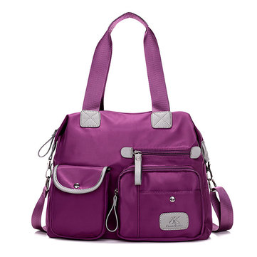 Women Waterproof Oxford Handbag Durable Light Functional Crossbody Bag-Newchic-