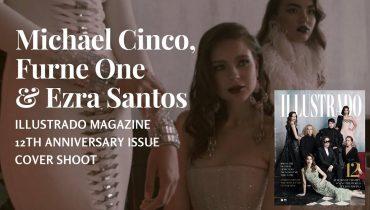 Michael Cinco, Furne One and Ezra Santos Cover Shoot for Illustrado Magazine