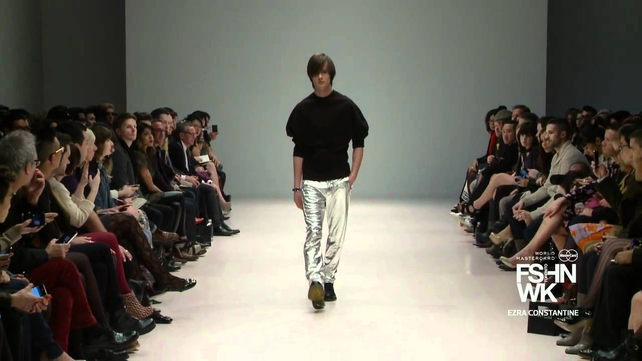 EZRA CONSTANTINE HIGHLIGHT – WORLD MASTERCARD FASHION WEEK FALL 2012 COLLECTIONS