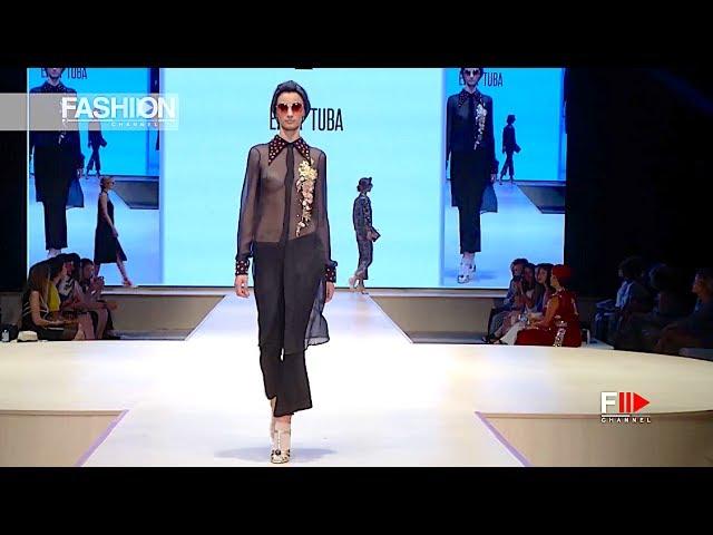 EZRA TUBA Full Show Spring 2018 Monte Carlo Fashion Week 2017 – Fashion Channel
