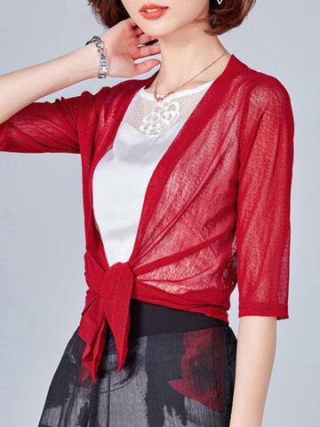 Lace Patchwork Women Kimonos-Newchic-