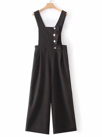Stringy Selvedge Women Rompers-Newchic-