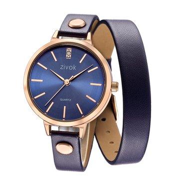 Women Leather Bracelet Luxury Watches-Newchic-